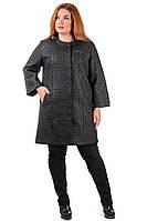 Пальто женское с капюшоном Elfina 8009