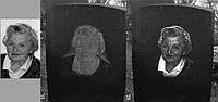 Восстановление портрета на памятнике