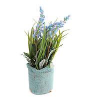 """Цветы искусственные """"Лаванда"""" в кашпо. Декор в стиле прованс"""