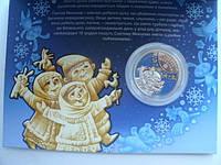 Украина 5 гривен 2016 год День Святого Николая в сувенирной упаковке