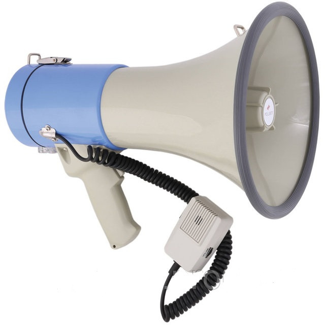 Громкоговоритель с MP3 плеером ER-66USB - мегафон (без аккумулятора)