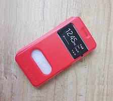 Чехол-книжка Nilkin для телефона Doogee Valencia 2 Y100 Pro (красный)