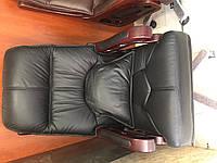кресло из натуральной кожи