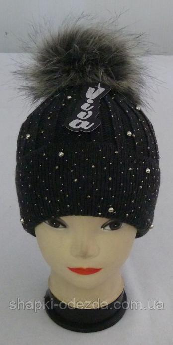 adaa12059fba Шапка женская с стразами: продажа, цена в Одессе. шапки от