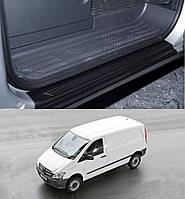 Накладки на пороги передних дверей Mercedes-Benz Vito / Viano W639 2003-2013