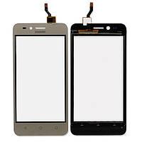 Тачскрин (сенсор) для Huawei Y3 II, LUA-U03, U23, L03, L13, L23, (версия 3G), золотой