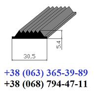Резиновая вставка в противоскользящие накладки 30,5х5,4 мм