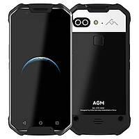 AGM X2 Android 7.1 6/64 ГБ Qualco IP68 Водонепроницаемый 6000 мАч 5.5 дюймов