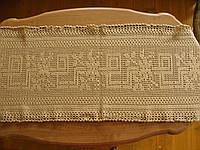 Вязанная скатерть