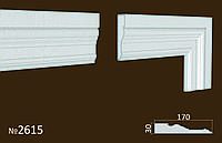 Фасадные (оконные) обрамления №2615 фасадный декор из пенопласта. цену уточняйте