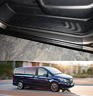 Накладки на пороги передних дверей Mercedes-Benz Vito / V-Class W447 2014>