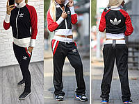 Женский спортивный костюм двунитка c-m m-l, фото 1