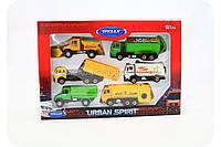 Игровой набор игрушечной спецтехники Welly 99610-6G
