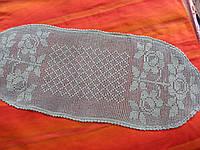 Скатерть вязанная