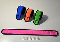 Светодиодный светящийся браслет Emmabin LED розовый (универсальный размер)