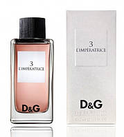 Женская парфюмированная вода Dolce & Gabbana 3 L`Imperatrice (соблазнительный цветочно-водный аромат), 100 мл