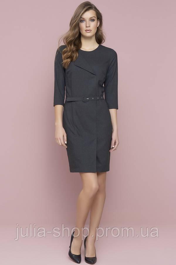 c3183dd38974fe Zaps осінь-зима 2017-2018 плаття SETA 029 графіт: продажа, цена в ...