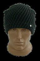 Мужская шапка  на флисе