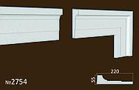 Фасадные (оконные) обрамления №2754 фасадный декор из пенопласта. цену уточняйте