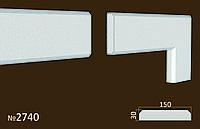 Фасадные (оконные) обрамления №2740 фасадный декор из пенопласта. цену уточняйте