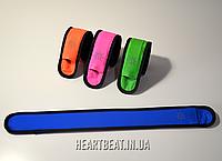 Светодиодный светящийся браслет Emmabin LED (универсальный размер) Синий