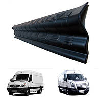 Накладки на пороги передних дверей Mercedes-Benz Sprinter W906 2006>