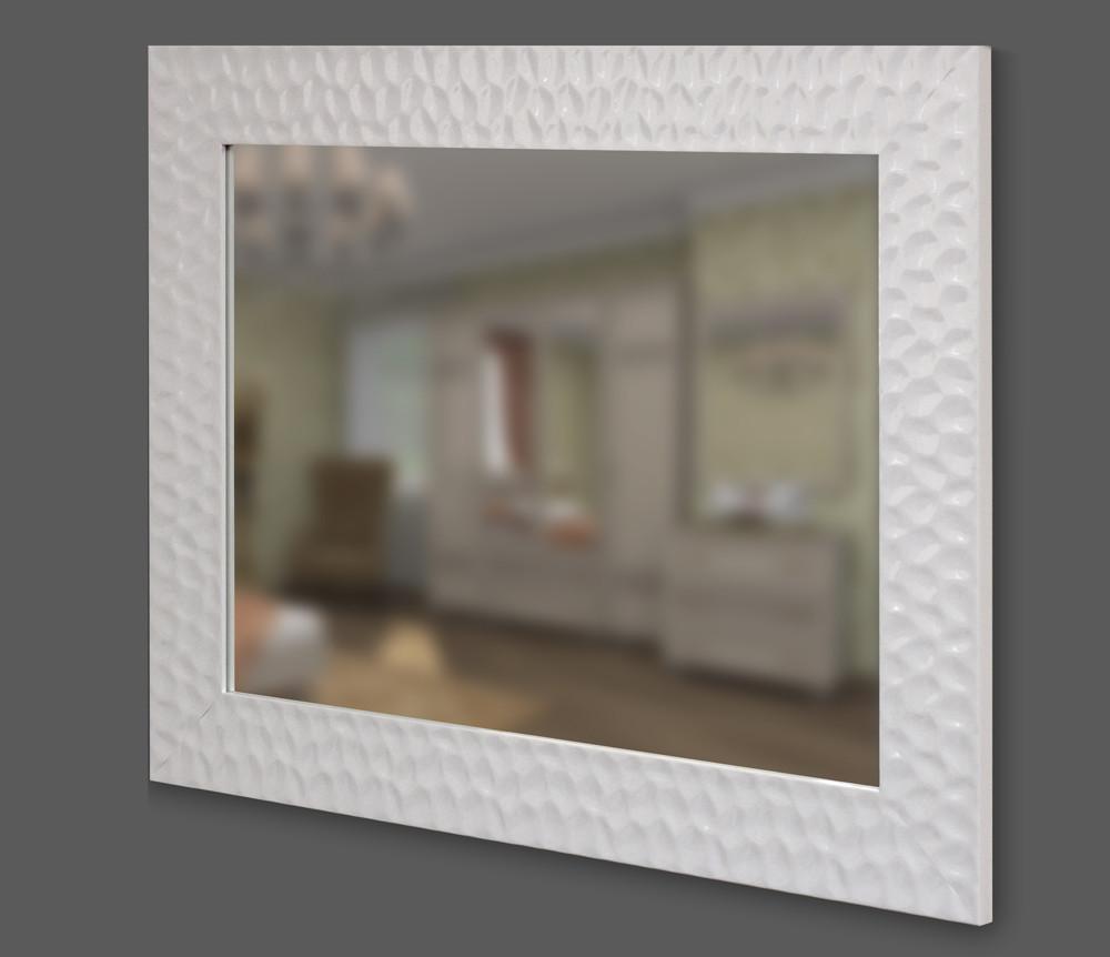 Зеркало в белой багетной раме 90мм