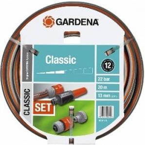 "Шланг Classic Ø13мм (1/2"") 20м + комплект для поливу Gardena"