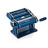 Marcato Atlas 150 Blu бытовая лапшерезка домашняя тестораскатка ручная паста машина для лапши и раскатки теста