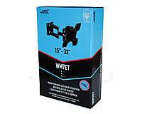 Поворотный кронштейн WM7ET для ЖК\LED\LCD телевизоров диагональю экрана 15–32″