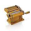 Marcato Atlas 150 Oro тестораскатка-лапшерезка ручная для дома бытовая домашняя машинка для лапши