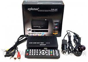 Цифровой эфирный тюнер Т2 Eplutus DVB-126T, фото 2