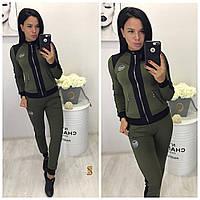 Женский спортивный костюм батал / двунитка / Украина, фото 1