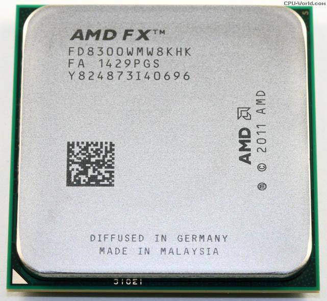 Процессор AMD FX-Series FX-8300 (8-core) 3.3-4.2GHz, 95W