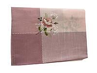 Скатерть с вышивкой  130-180 см