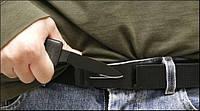"""Нож - ремень с пряжкой Belt Knife """"Гризли""""."""
