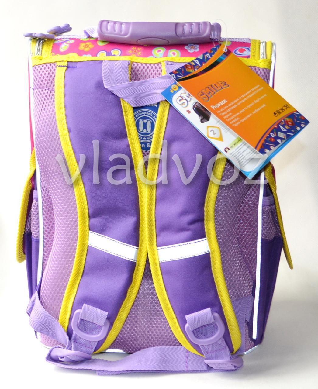 Школьный каркасный рюкзак для девочек