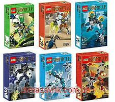 Конструктор KSZ 706-1/6 (Аналог Lego Bionicle Бионикл) 65 деталей