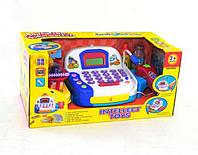 Игровой набор Кассовый аппарат 986 С с микрофоном и аксессуарами