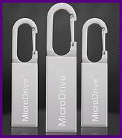 Металлическая USB 2.0 флешка 8 GB