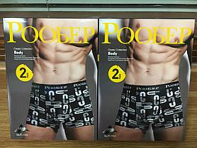 """Чоловічі боксери стрейчеві марка """"РООБЕР"""" АРТ.P-1703, фото 3"""