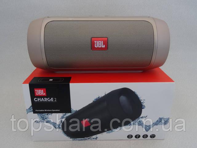 Колонка портативная Bluetooth JBL Charge 2+