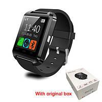 Смарт часы U8, Smart watch. Черные. Заводская упаковка.
