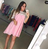Женское платье из креп шифона