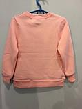 Утепленная кофта для девочки 116 см, фото 3