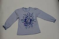 Вышиванка блуза для девочки Гжель Размер 98, 104 см, фото 1