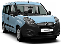 Рейлинги и поперечины на Opel Combo (c 2012--)