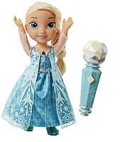 Поющая кукла Эльза с микрофоном Disney Frozen Sing-A-Long Elsa