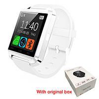 Смарт часы U8, Smart watch. Белые. Заводская упаковка.