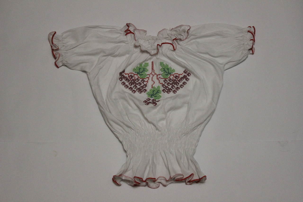 Вышиванка Ветка калины для девочки Размер 4, 6 лет